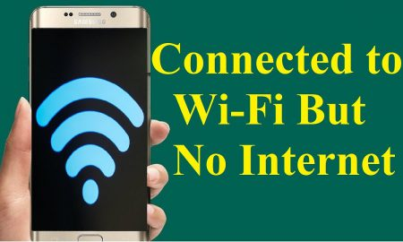 connected no internet